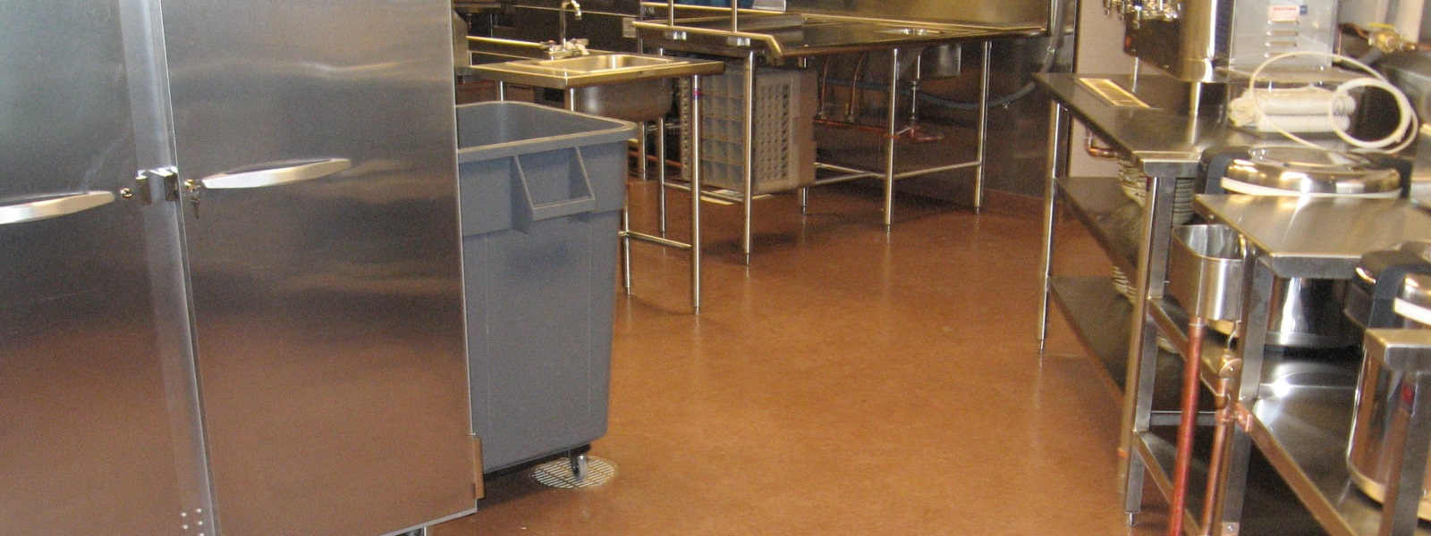 commercial kitchen floors - delaware concrete coatings