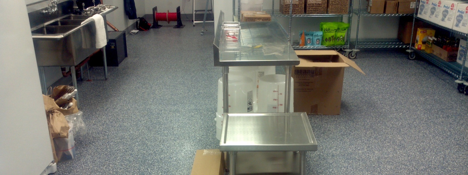 commercial kitchen floor coating kitchen floors delaware concrete coatings 5612